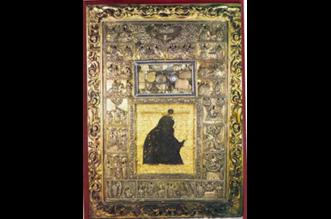 Παναγία των Χαιρετισμών ή Μυροβλύτισσα - Ιερά Μονή Διονυσίου