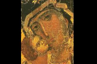Η Παναγία του Βλαδιμήρου.