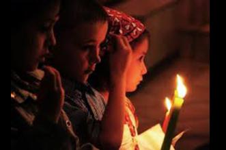 προσευχή μικρών παιδιών