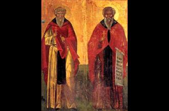 Οι Οσίοι Βαρνάβας και Ιλαρίωνας