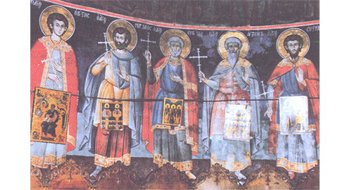 Άγιοι Ευστράτιος, Αυξέντιος, Μαρδάριος, Ευγένιος και Ορέστης