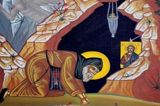 Άγιος Ιάκωνος ο Ασκητής.