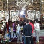 Παναγία Πλατσανή στην Οία της Σαντορίνης.