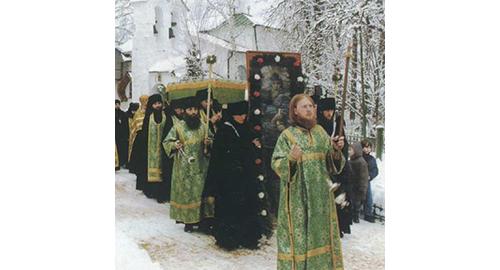 Ρώσοι μοναχοί.